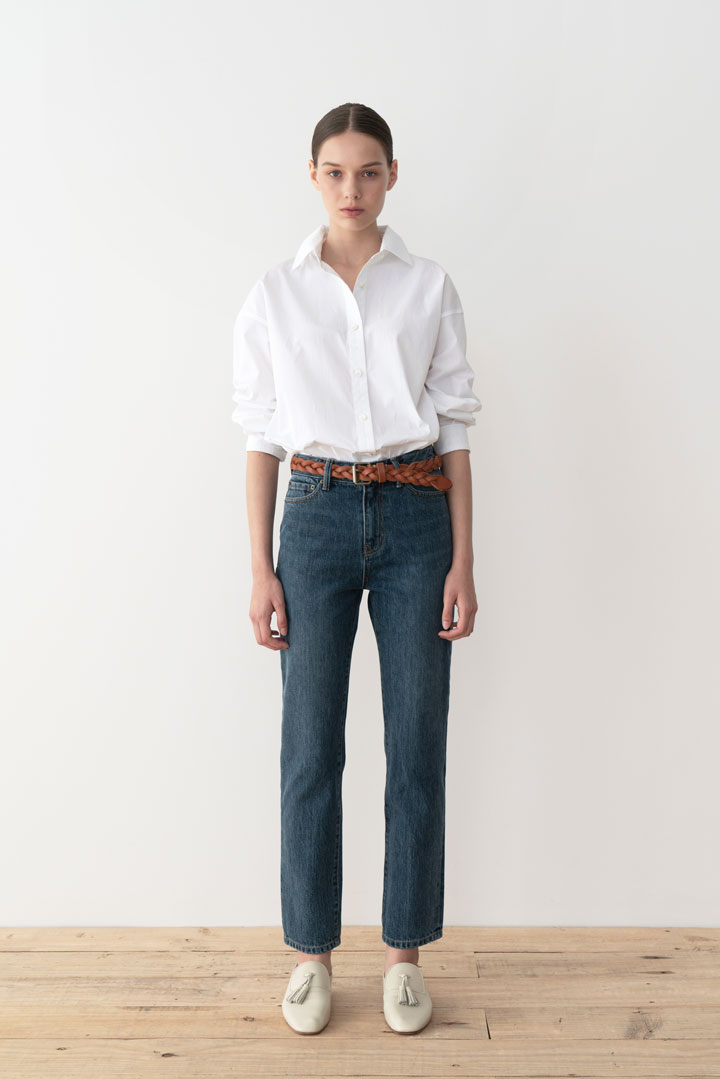 Numero051: L'Ombre Straight Denim Pants