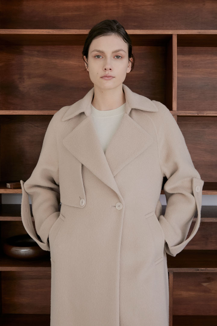 Numero 066: Alpaca Trench Coat