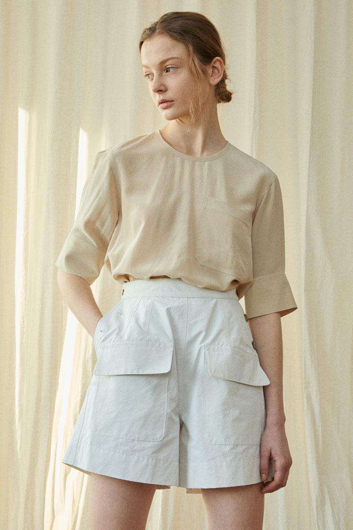Numero 077: Marcel Buttoned Shorts (2 colors)