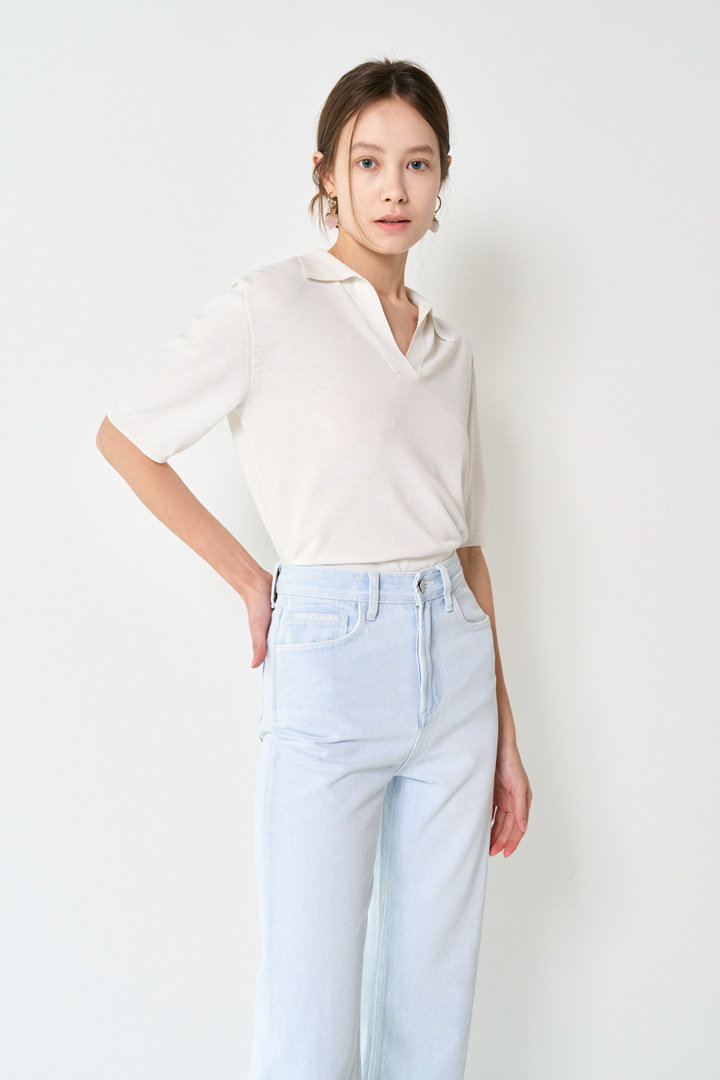 Cloud Straight Denim Pants
