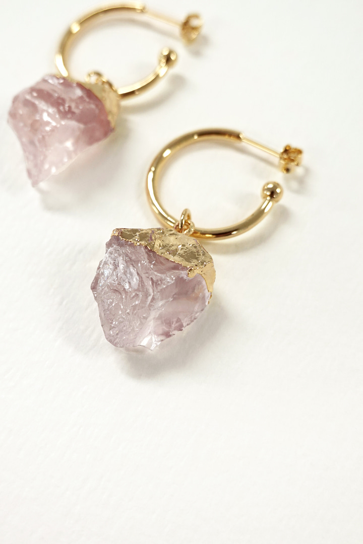 Inca Rose Earring