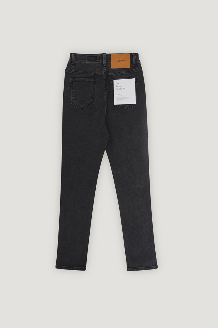 Le Jain Slim-straight Denim Pants (Grey)