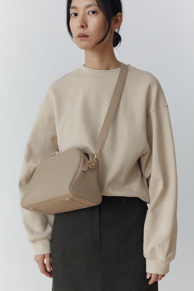Madeleine Sweatshirt (Light Beige)