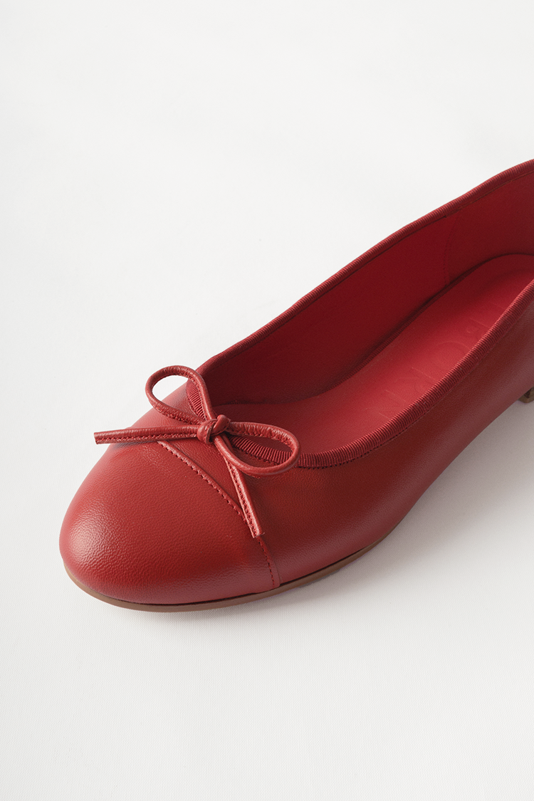 Julienne Flat Shoes (Rouge)
