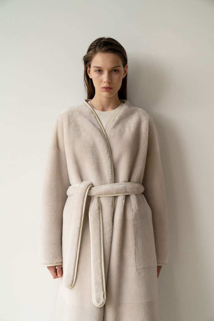 Numero 054: Reversible Shearling Coat (2 colors)