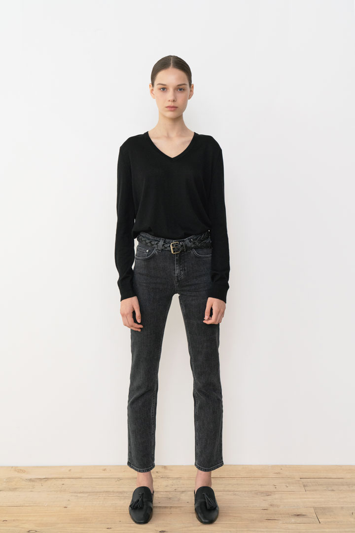 Numero052: Colette Slim-fit Denim Pants