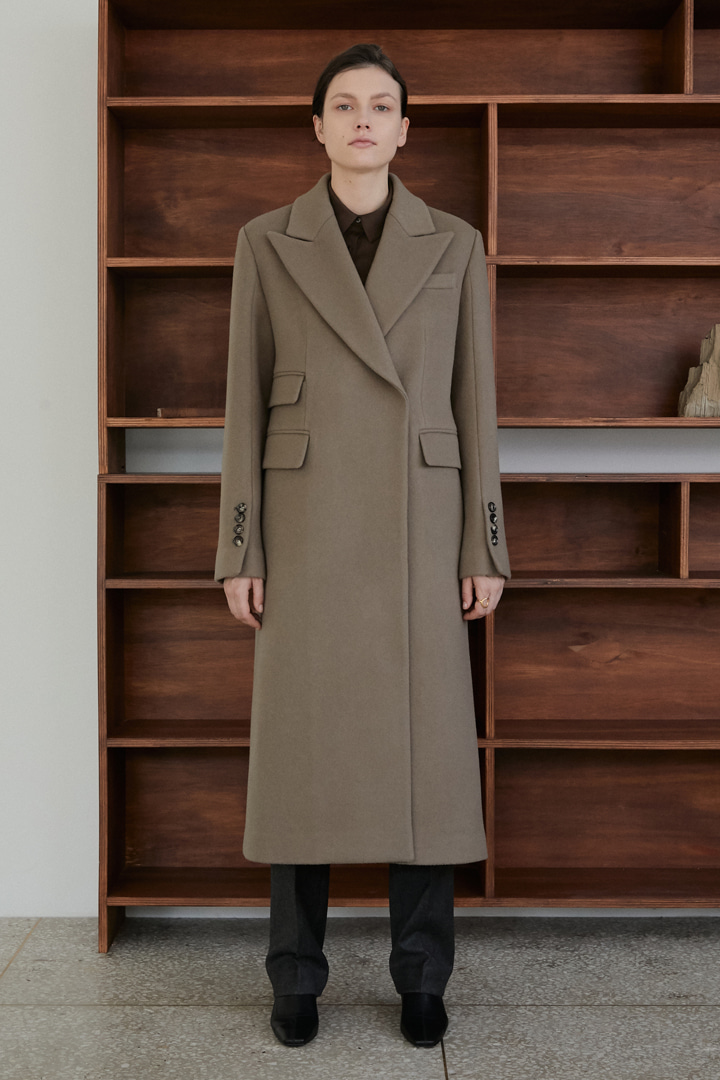 Numero 059: Cashmere Blended Coat (2 colors)