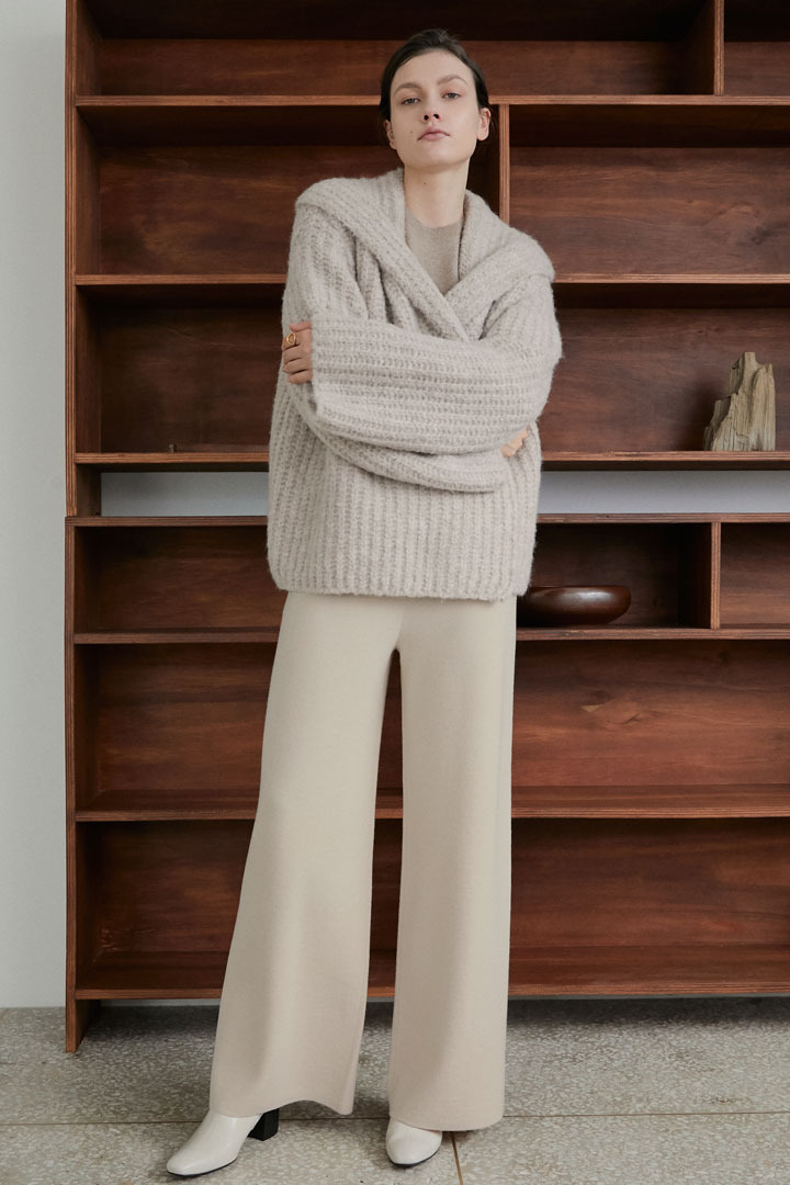 Numero 068: Wide Knit Pants