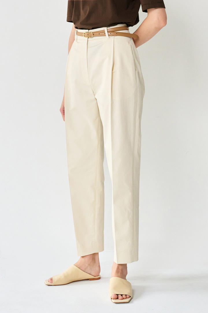 [Pre-order] Double Stitched Curve Pants (2 colors)