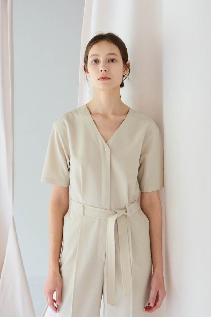 Hobby Pleated Jumpsuit (2 colors)