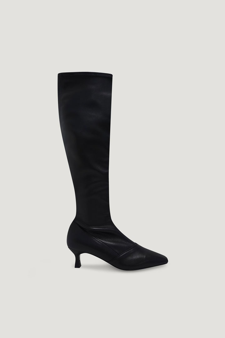 Pernell Long Boots (Black)