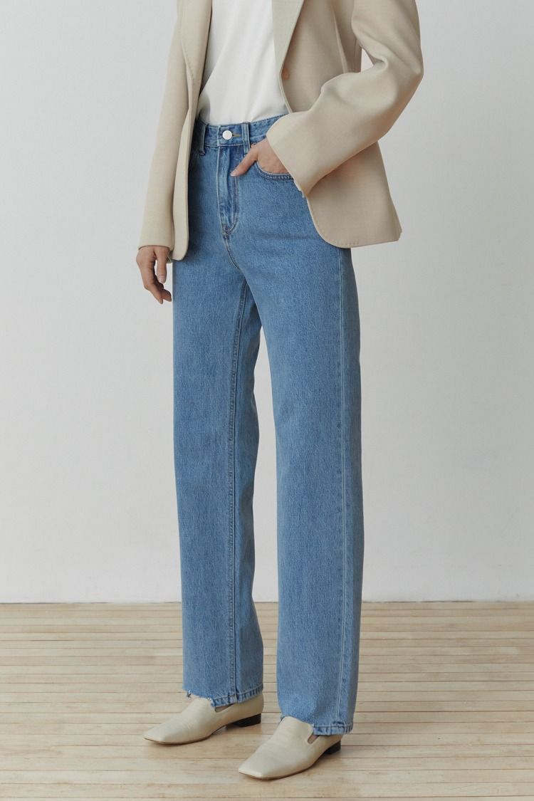 Rood Denim Pants (Blue)