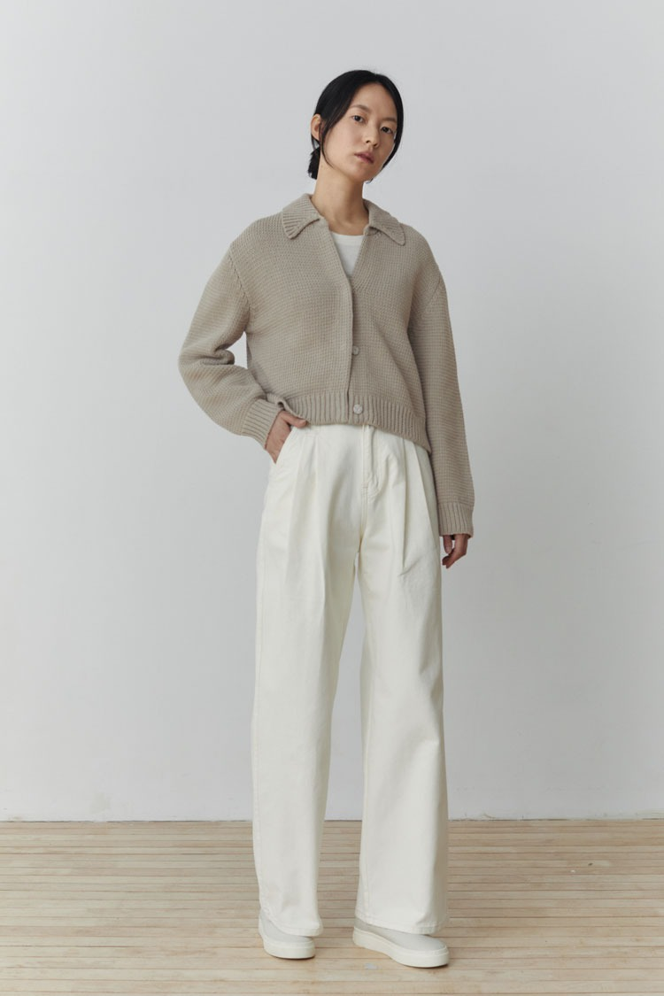 Wide Two-tuck Trousers